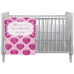 Love You Mom Crib Comforter / Quilt