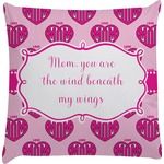 Love You Mom Decorative Pillow Case