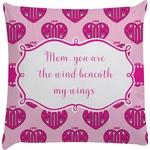 Love You Mom Decorative Pillow Case