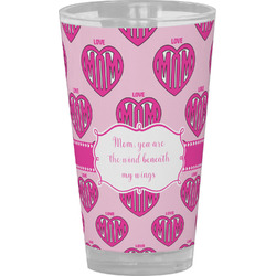 Love You Mom Drinking / Pint Glass