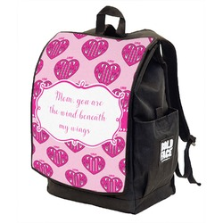 Love You Mom Backpack w/ Front Flap