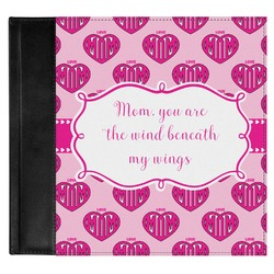 Love You Mom Genuine Leather Baby Memory Book