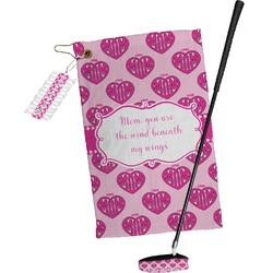 Love You Mom Golf Towel Gift Set
