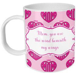 Love You Mom Plastic Kids Mug