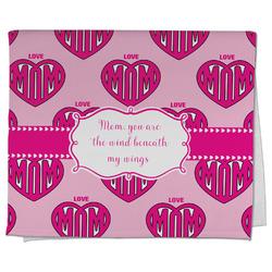 Love You Mom Kitchen Towel - Full Print