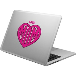 Love You Mom Laptop Decal