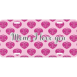 Love You Mom Front License Plate