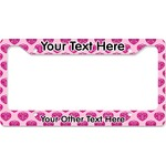 Love You Mom License Plate Frame