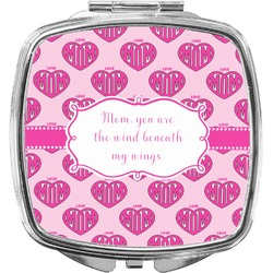 Love You Mom Compact Makeup Mirror