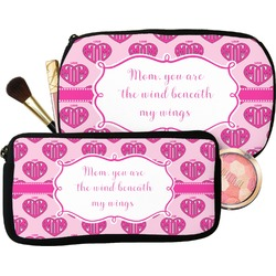 Love You Mom Makeup / Cosmetic Bag