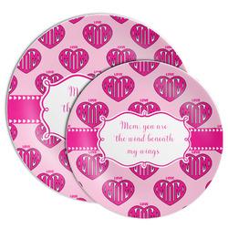 Love You Mom Melamine Plate