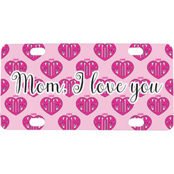 Love You Mom Mini / Bicycle License Plate