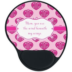 Love You Mom Mouse Pad with Wrist Support