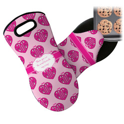 Love You Mom Neoprene Oven Mitt