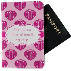 Love You Mom Passport Holder - Fabric