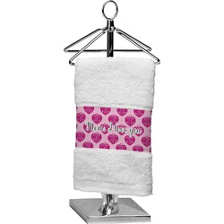 Love You Mom Cotton Finger Tip Towel