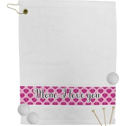 Love You Mom Golf Towel
