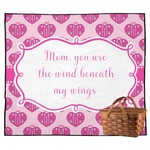 Love You Mom Outdoor Picnic Blanket