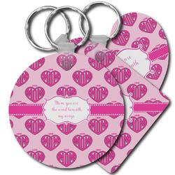 Love You Mom Plastic Keychains