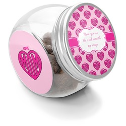 Love You Mom Puppy Treat Jar