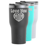 Love You Mom RTIC Tumbler - Black