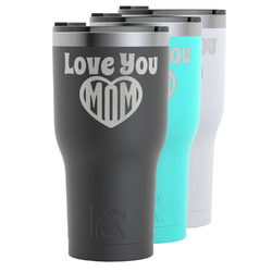 Love You Mom RTIC Tumbler - 30 oz
