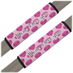 Love You Mom Seat Belt Covers (Set of 2)