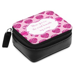 Love You Mom Small Leatherette Travel Pill Case