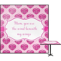 Love You Mom Square Table Top