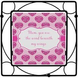 Love You Mom Square Trivet
