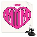 Love You Mom Sublimation Transfer