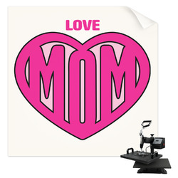 Love You Mom Sublimation Transfer