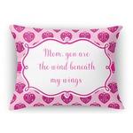 Love You Mom Rectangular Throw Pillow Case