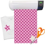 "Love You Mom Heat Transfer Vinyl Sheet (12""x18"")"