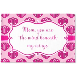 Love You Mom Woven Mat