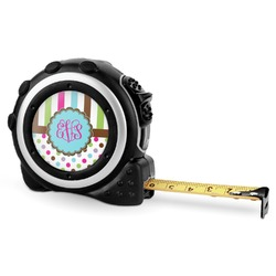 Stripes & Dots Tape Measure - 16 Ft (Personalized)