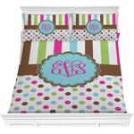 Stripes & Dots Comforters (Personalized)
