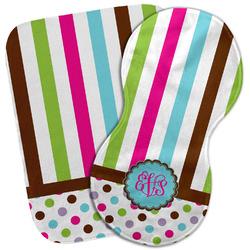 Stripes & Dots Burp Cloth (Personalized)