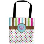 Stripes & Dots Auto Back Seat Organizer Bag (Personalized)