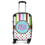 Stripes & Dots Suitcase (Personalized)