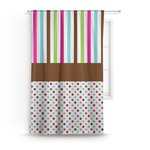Stripes & Dots Curtain (Personalized)