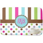 Stripes & Dots Dish Drying Mat (Personalized)