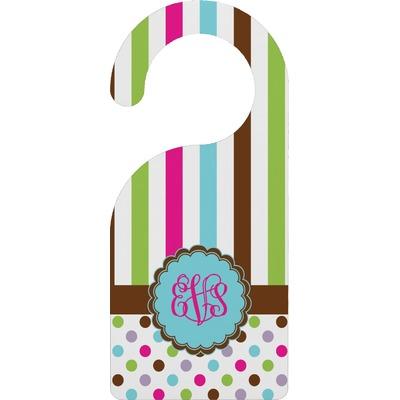 Stripes & Dots Door Hanger (Personalized)