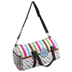 Stripes & Dots Duffel Bag (Personalized)