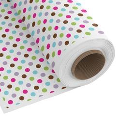 Stripes & Dots Custom Fabric - Spun Polyester Poplin (Personalized)
