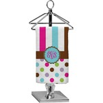 Stripes & Dots Finger Tip Towel - Full Print (Personalized)