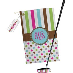 Stripes & Dots Golf Towel Gift Set (Personalized)