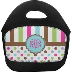 Stripes & Dots Toddler Lunch Tote (Personalized)
