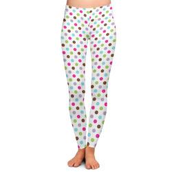 Stripes & Dots Ladies Leggings (Personalized)