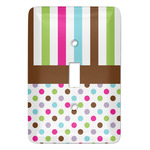 Stripes & Dots Light Switch Covers (Personalized)
